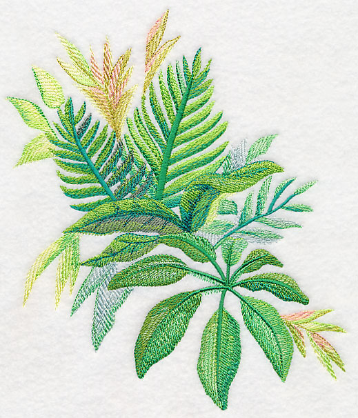 Machine Embroidery Designs At Embroidery Library Embroidery Library Tropical leaf prints in home decor, fashion and party jessica long on instagram: machine embroidery designs at