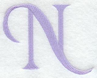 Hana Letter N 3 Inch