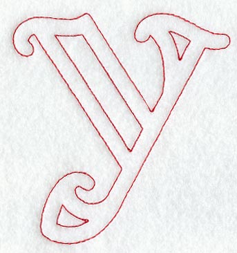 Machine embroidery designs at embroidery library embroidery library majestic lower case letter y 5 inch thecheapjerseys Image collections