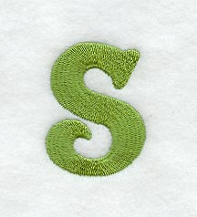 Machine embroidery designs at embroidery library embroidery library victorian lower case letter s 3 inch thecheapjerseys Gallery