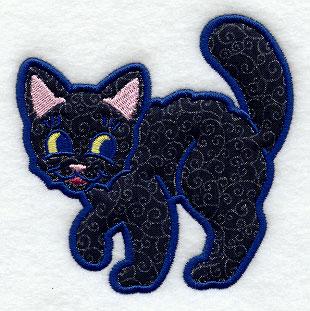 Pretty Kitties Applique~FREE Crochet Pattern | Crochet cat pattern ... | 311x310