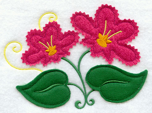 Machine Embroidery Designs At Embroidery Library Embroidery Library Adorable Applique Patterns Flowers