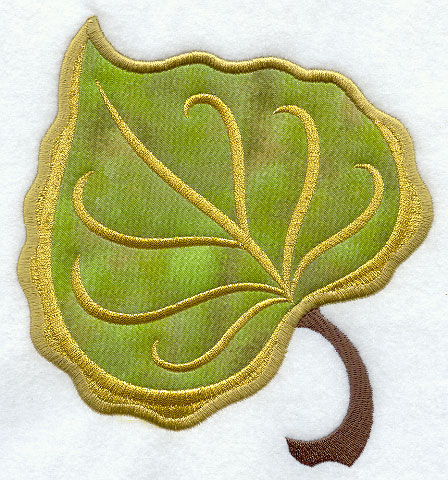 Machine embroidery designs at embroidery library embroidery library cottonwood leaf applique dt1010fo