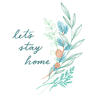 Request of the Week - Let's Stay Home Sampler