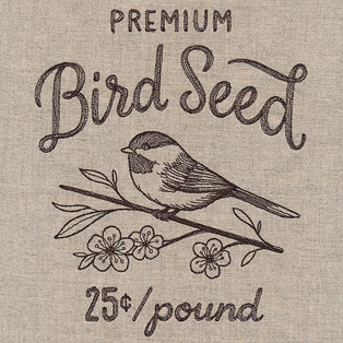 Request of the Week - Bird Seed Market Sign