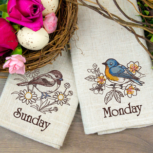 Featured Pack: Days of the Week Birds and Blooms