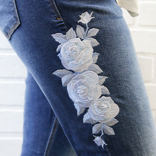 Embroidering On Seams Tutorial