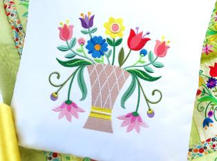 Floral Pillow Squares Designs