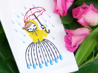 Spring Shower Designs