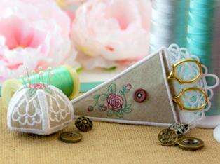 Scissor Cases and Pincushion Designs