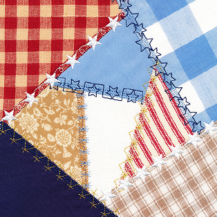 Request of the Week - Americana Crazy Quilt Block
