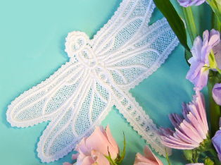 Lace Butterflies & Insects Designs