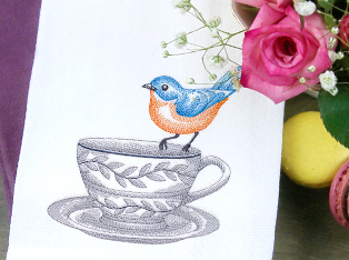 Toile Birds & Butterfly Designs
