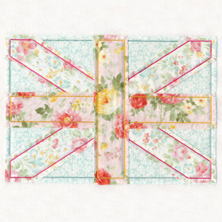 Request of the Week - Shabby Chic Union Jack
