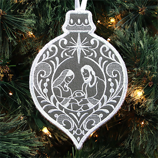 Embroidered Christmas Ornaments Video