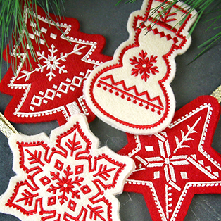 Featured Pack: Nordic Christmas Ornaments