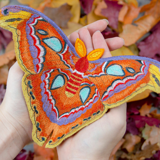 Request of the Week - Freestanding Atlas Moth