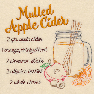 Request of the Week - Mulled Apple Cider Recipe