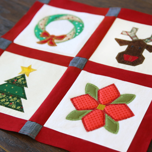 Featured Pack: Christmas Quilt Blocks (In-the-hoop)