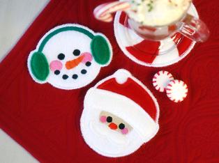 Christmas Coaster Designs