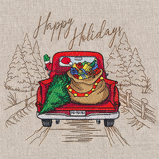 Request of the Week - Happy Holidays Retro Truck Medley