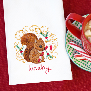 Featured Pack: Days of the Week Christmas Critters