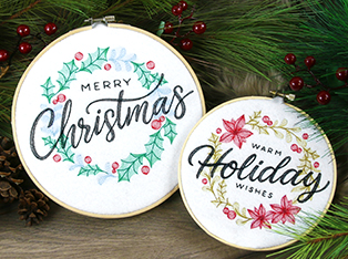 Christmas Wreaths and Spray Designs