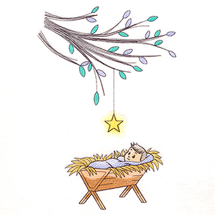 Request of the Week - Delicate Tree Over Manger