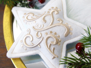 In-the-Hoop Ornament Designs