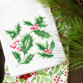 Featured Pack: Tis' the Season Floral Sketches