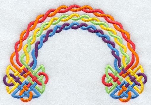 Rainbow Bedroom Art