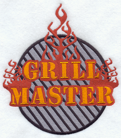Grill Master Embroidery Designs Coolhd Today