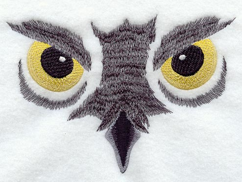 Machine Embroidery Eyes