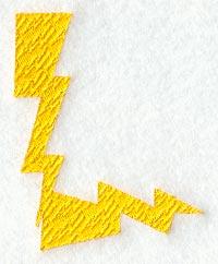 Lightning Letter L 3 Inch