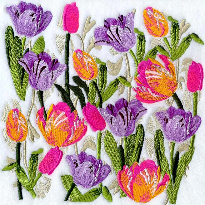 flower garden dreams - Embroidery Garden