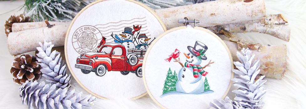 Embroidery Library - Snowman Soiree Sale