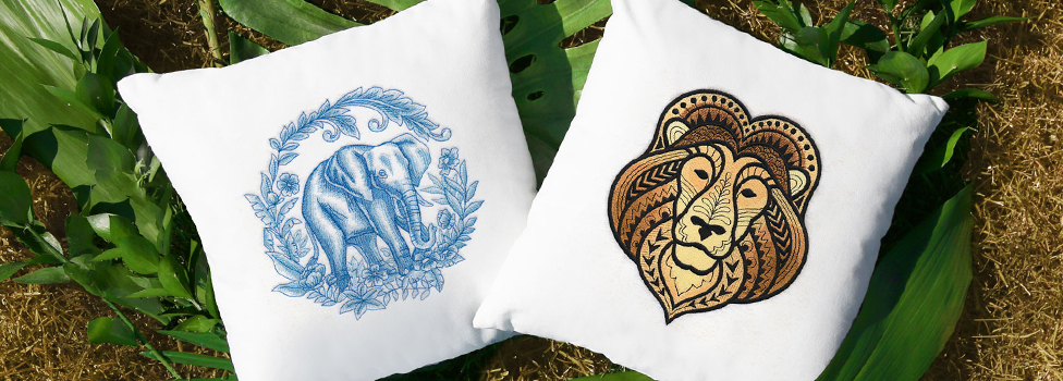 Embroidery Library - Safari Sophisticate Sale