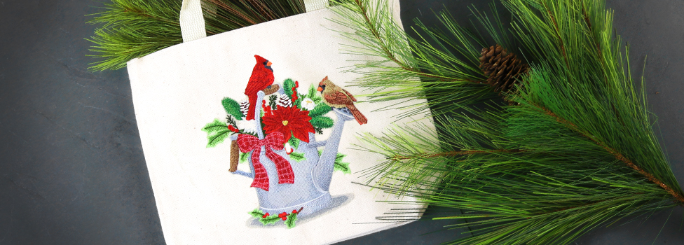 Embroidery Library - Festive Feathers Sale