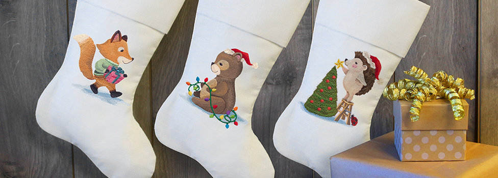 Embroidery Library - Christmas Critters Sale